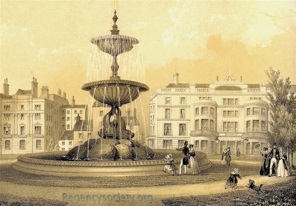 The Victoria Fountain, Braighton. BPC00152