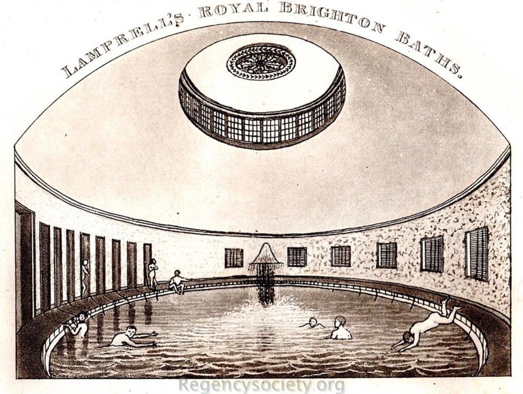 Aquatint engraving from Sickelmore's 'History of Brighton' 1827.