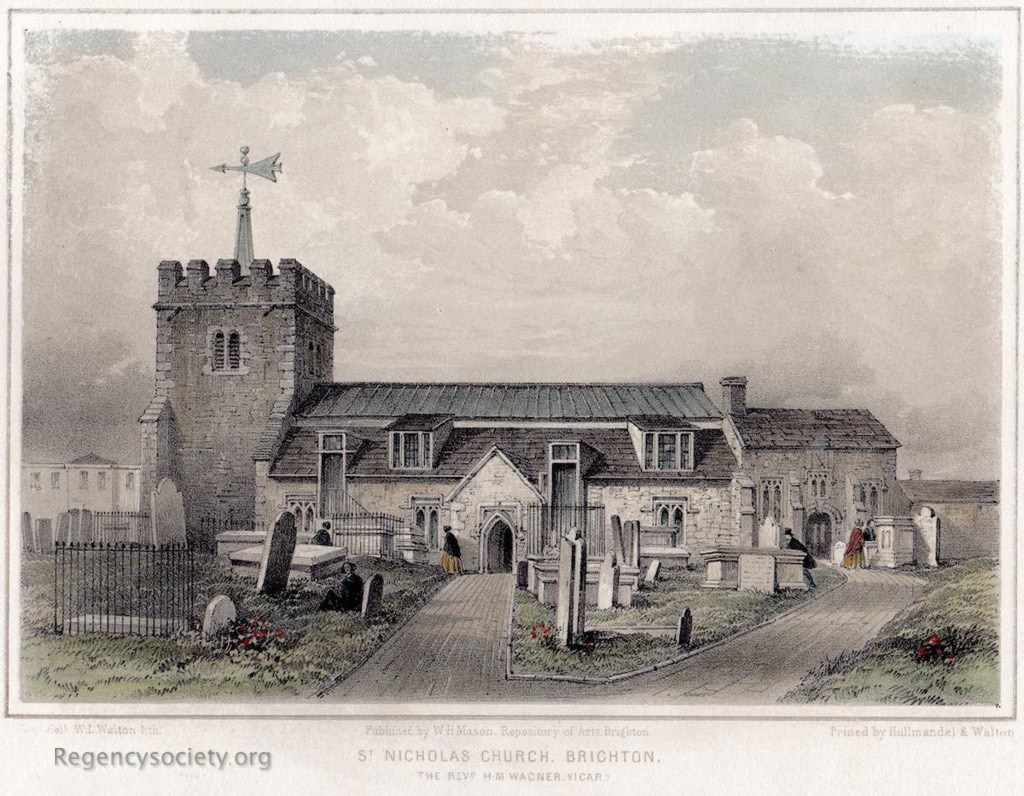 Tinted lithograph by W.L. Walton after F. Ford.