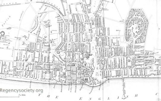 Plan of Brighton and its Environs including the Recent Improvements