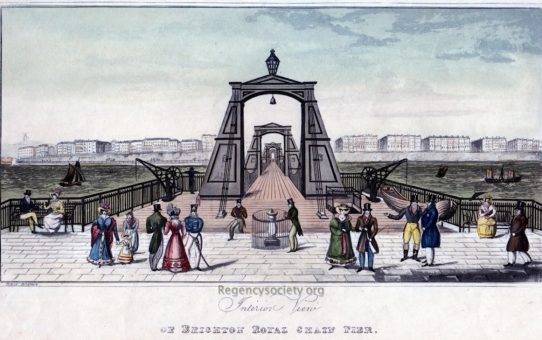 Interior View of Brighton Royal Chain Pier