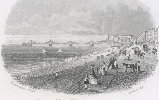Chain Pier, Brighton (from the East)