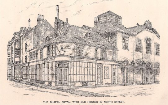 The Chapel Royal with Old Houses in North Street