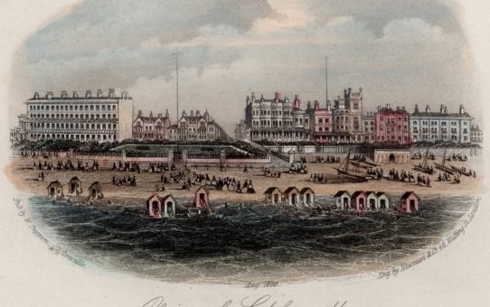 View of Cliftonville, from the sea