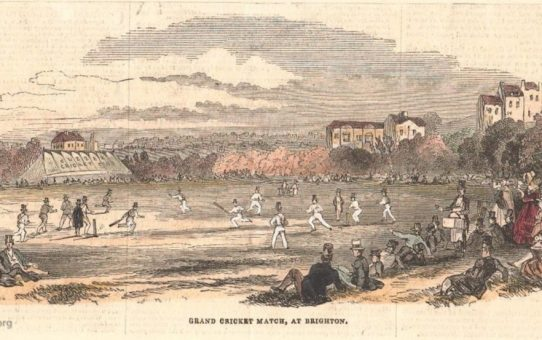 Grand Cricket Match at Brighton