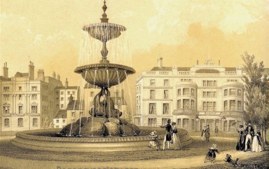 The Victoria Fountain, Brighton. Erected May 26th 1846