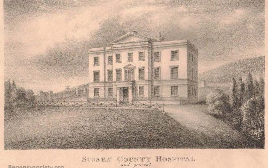 Sussex County Hospital, and general Sea-Bathing Infirmary