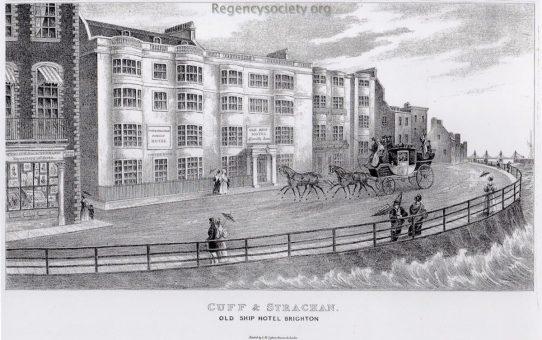 Cuff & Strachan. Old Ship Hotel Brighton