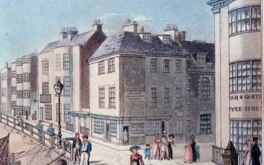 Detail of 'The Star and Garter Hotel'