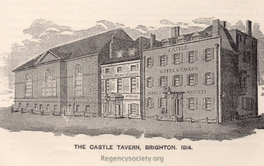 The Castle Tavern, Brighton 1814