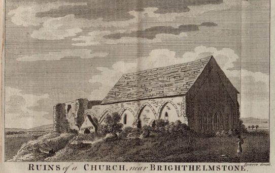 Ruins of a Church near Brighthelmstone