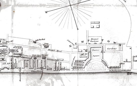 Plan of Brighton and Its Environs including all the Recent Improvements (detail)