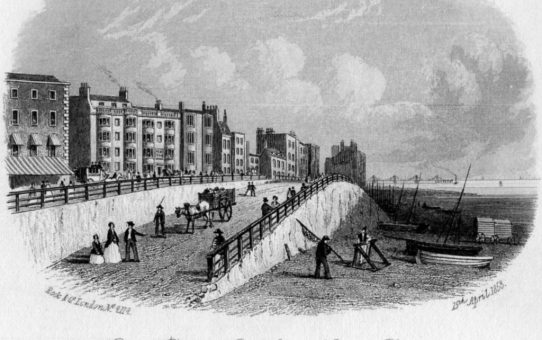 King's Road & Old Ship Hotel, Brighton