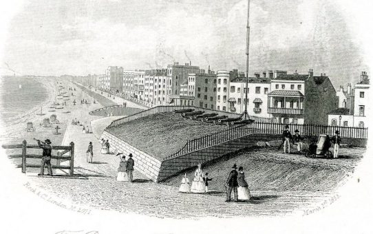 The Battery & King's Road, Brighton