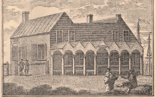 Miss Widgett's Library, South of the Steine, 1779 – The Post Office