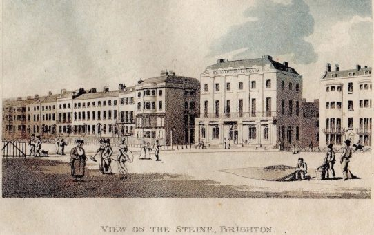 Donaldson's Library in  'View on the Steine, Brighton'