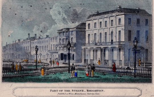Lucombe's Library in 'Part of the Steine, Brighton'