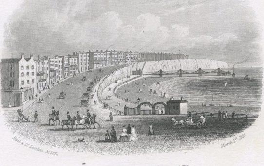 Marine Parade & Chain Pier, Brighton