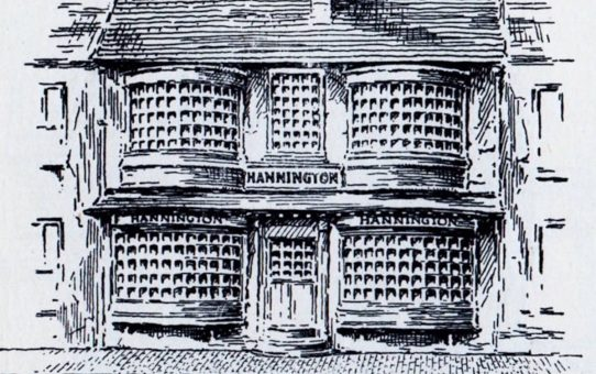 Mr. S. Hannington, No. 3 North Street in 1808