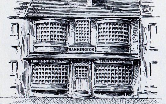 Mr. S. Hannington, No. 3 North Street in 1808