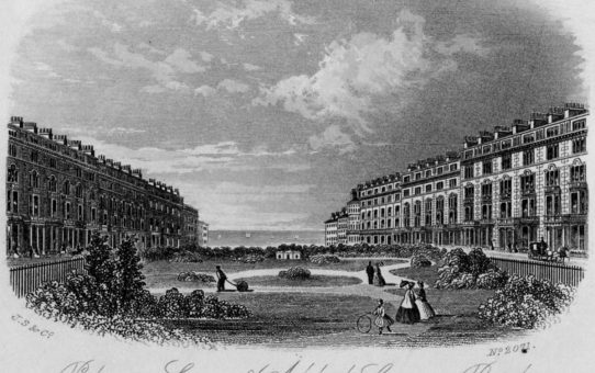 Palmeira Square and Adelaide Crescent, Brighton