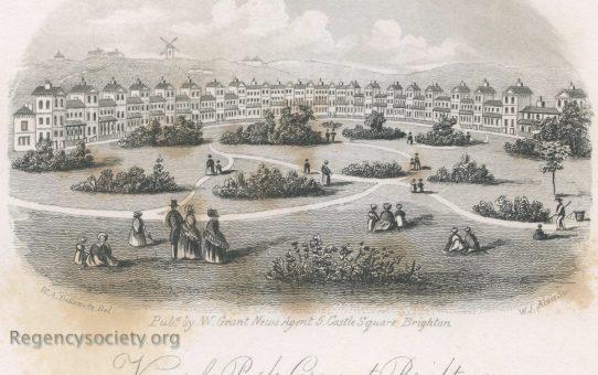 View of Park Crescent, Brighton