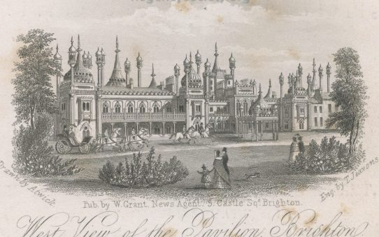 West View of the Pavilion, Brighton