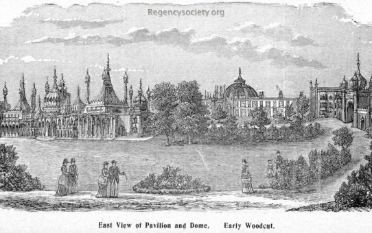 East View of the Pavilion and Dome
