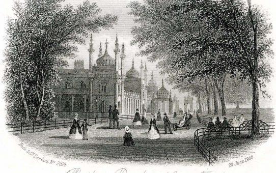 Pavilion Brighton (Garden Front)