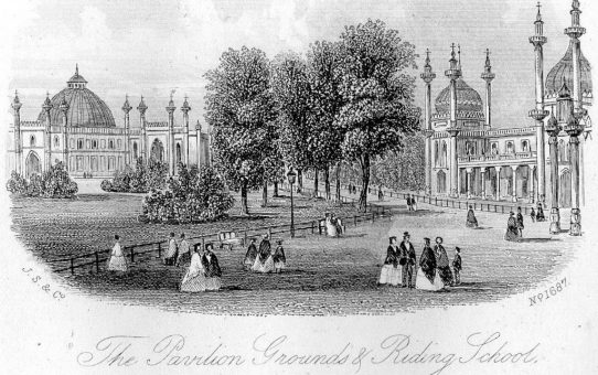 The Pavilion Grounds & Riding School, Brighton