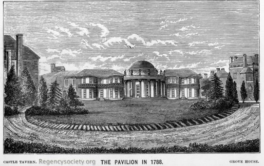 The Pavilion in 1788