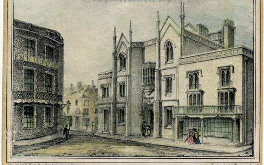 Brighton National Schools – Erected 1830