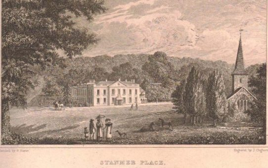 Stanmer Place, The Seat of the Earl of Chichester