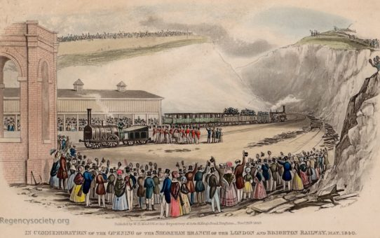 In Commemoration of the Opening of the Shoreham Branch of the London and Brighton Railway, May 1840