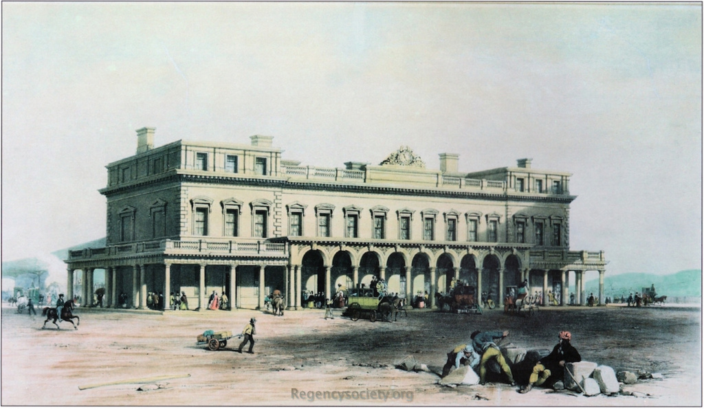 View of the Brighton Station, of the London and Brighton Railway