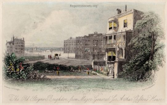 The Old Steine, Brighton, from Major General Sir Arthur Clifton's House