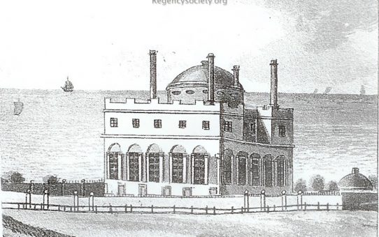 The Temple, seat of T.R. Kemp Esq.