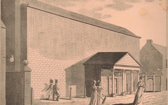 The Theatre in Duke Street, 1804