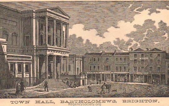 Town Hall, Bartholomews, Brighton