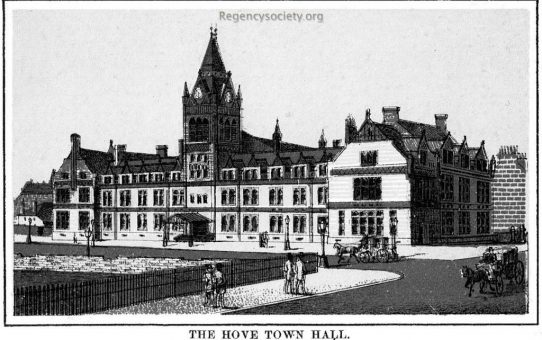 The Hove Town Hall
