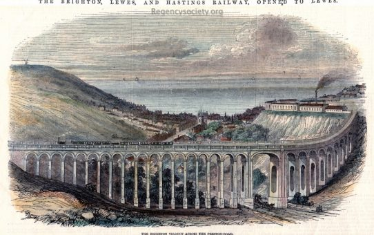 The Brighton Viaduct across the Preston-Road