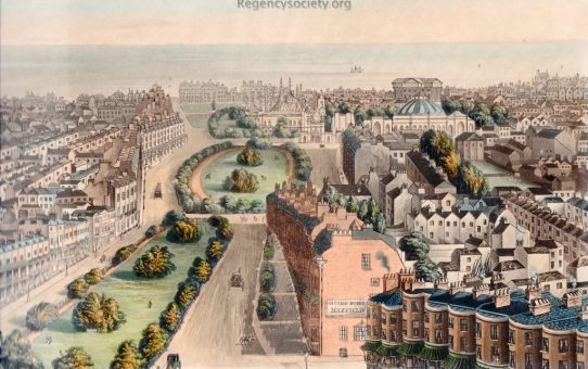 Detail number 2 of Bird's eye View of Brighton, From the New Church