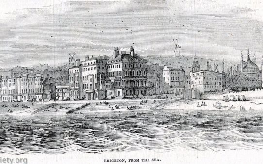 Brighton, From The Sea