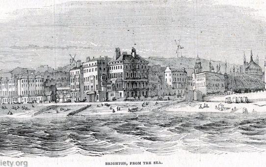 Brighton, From The Sea