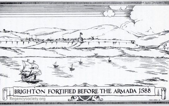Brighton Fortified before the Armada 1588
