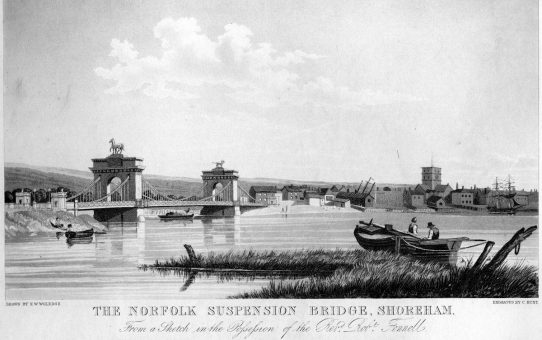 The Norfolk Suspension Bridge, Shoreham